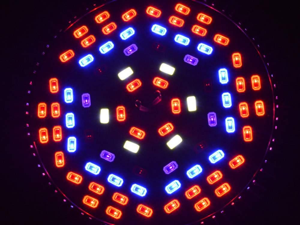 Teljes Spektrumú Növénynevelő LED izzó, 78W, E27
