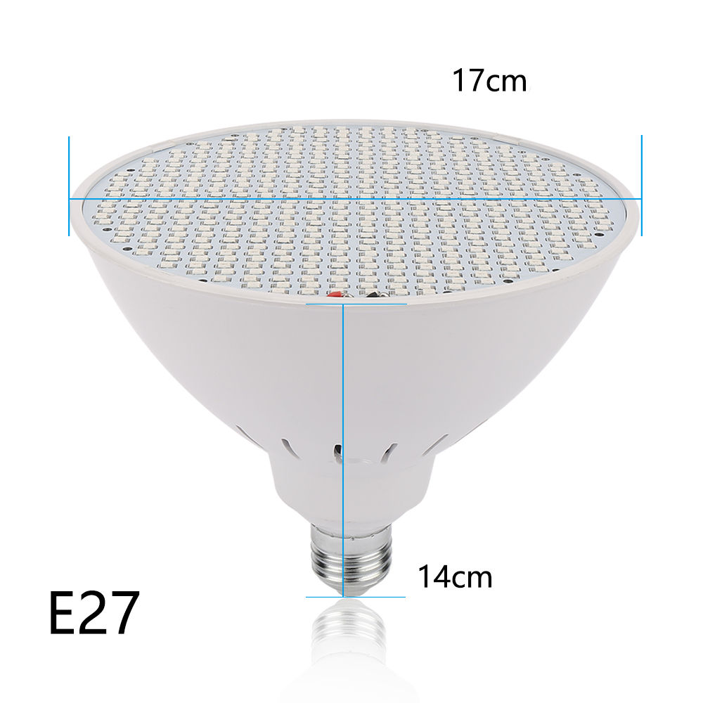 Teljes Spektrumú Növénynevelő LED izzó 50W E27