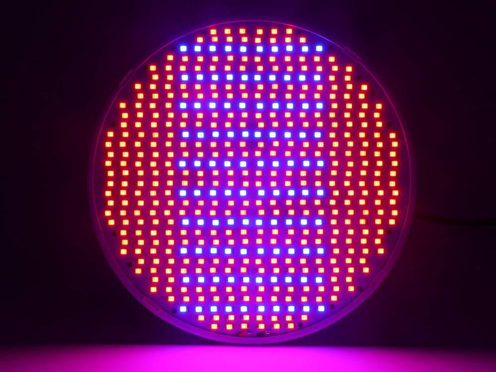 Növénynevelő LED izzó 50W E27