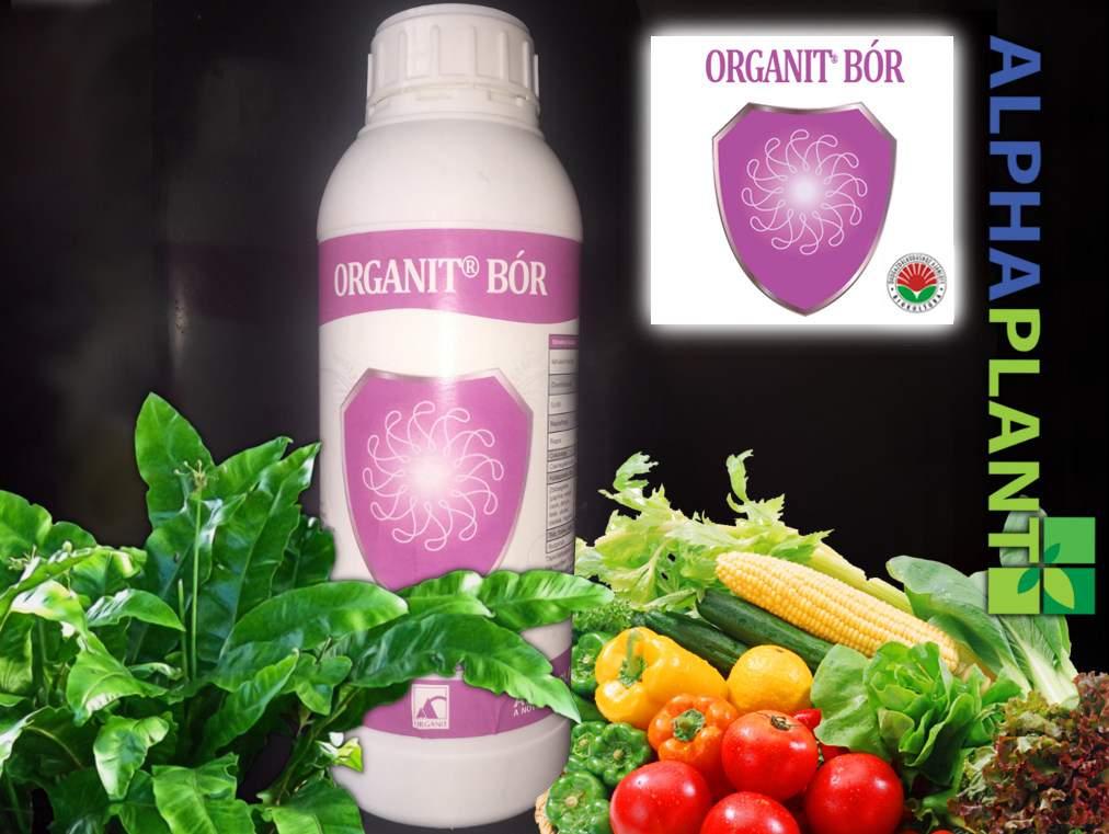 Bio műtrágya, Organit bór