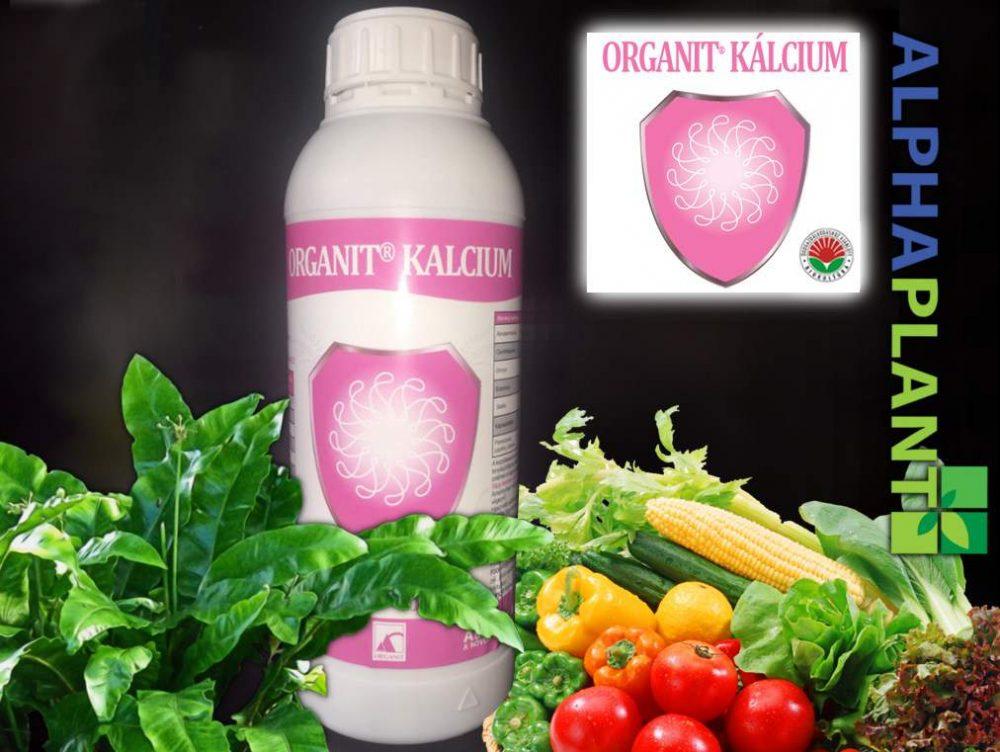 Bio lombtrágya, Organit kalcium