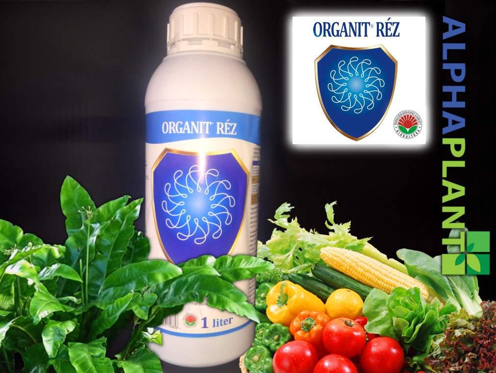 Bio műtrágya, Organit réz