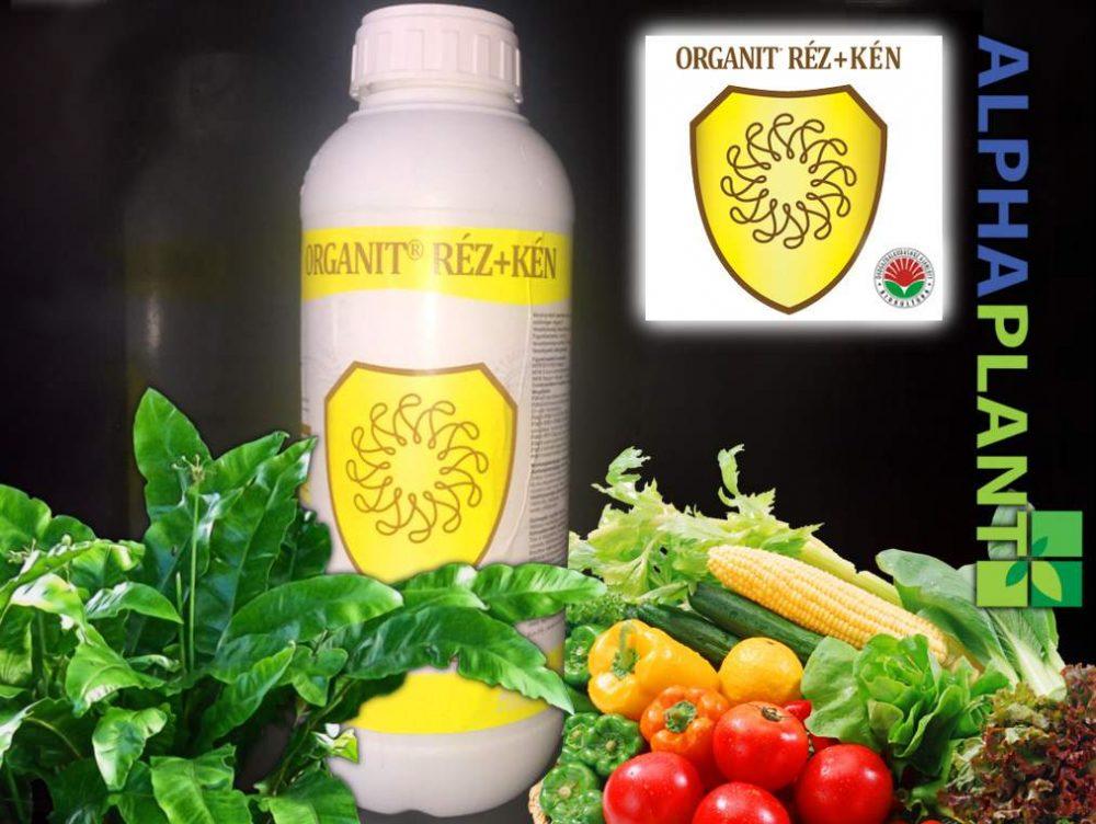 Bio lombtrágya, Organit réz+kén