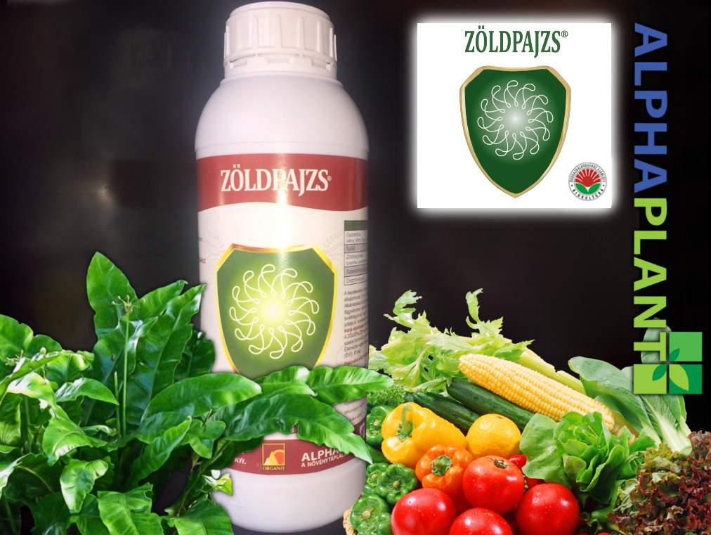 Bio műtrágya, Organit zöldpajzs