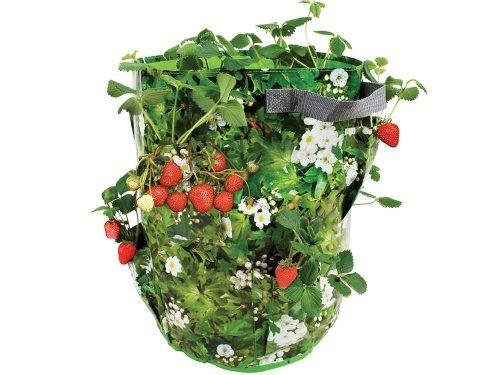 Növénytermesztő zsák zsebekkel