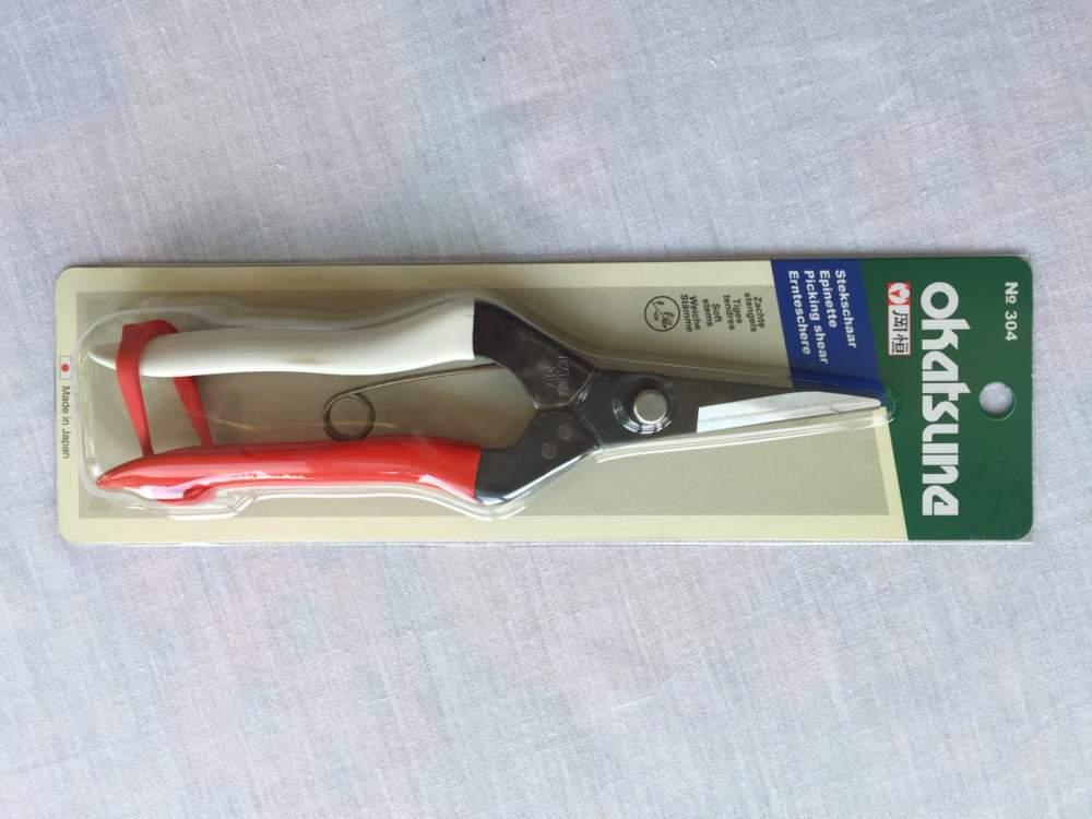 Okatsune® 304 virágolló, lágy szárak vágására