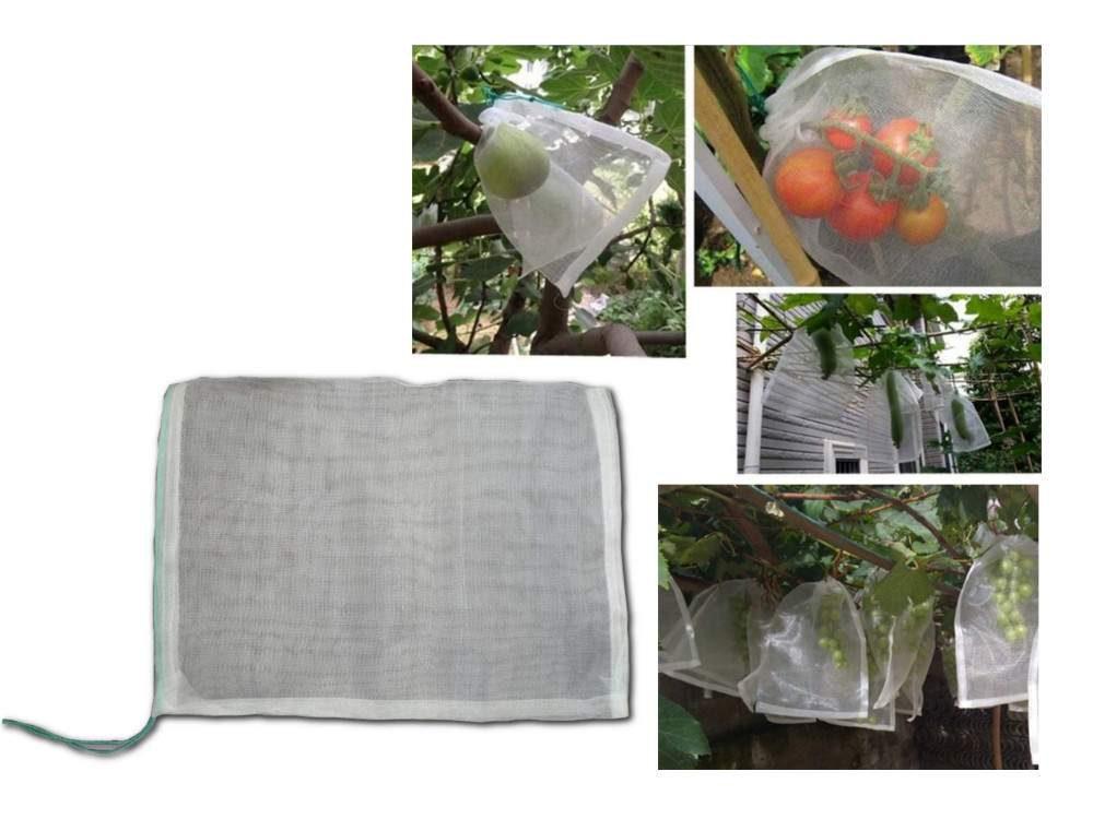 Zsinórral zárható termésvédő háló, 35×25 cm (50 db.)