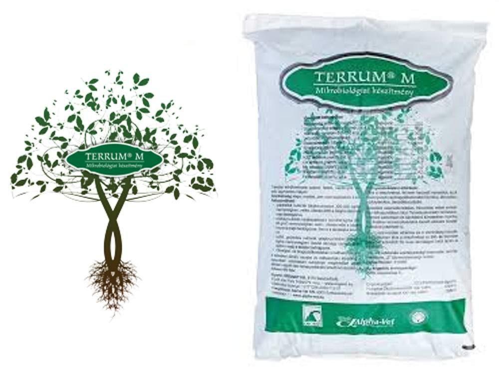 Terrum M mikrobiológiai talajjavító készítmény