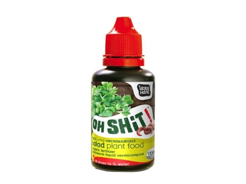 """""""Oh Shit!"""" bio gilisztahumusz kivonat - salátafélékhez"""