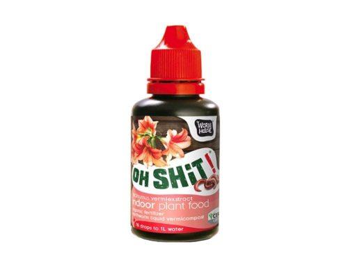 """""""Oh Shit!"""" bio gilisztahumusz kivonat – szobanövény"""