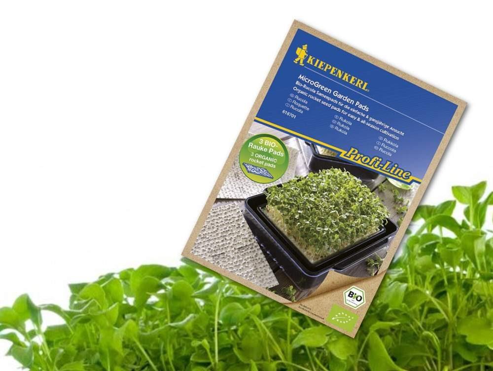 Kiepenkerl bio magpárnák mikrozöldség termesztéshez - Rukkola