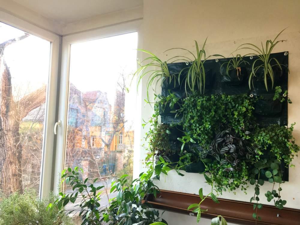 Függőleges kert avagy zöldfal (16 zseb)