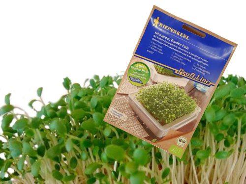 Vöröshere mikrozöld bio magpárna