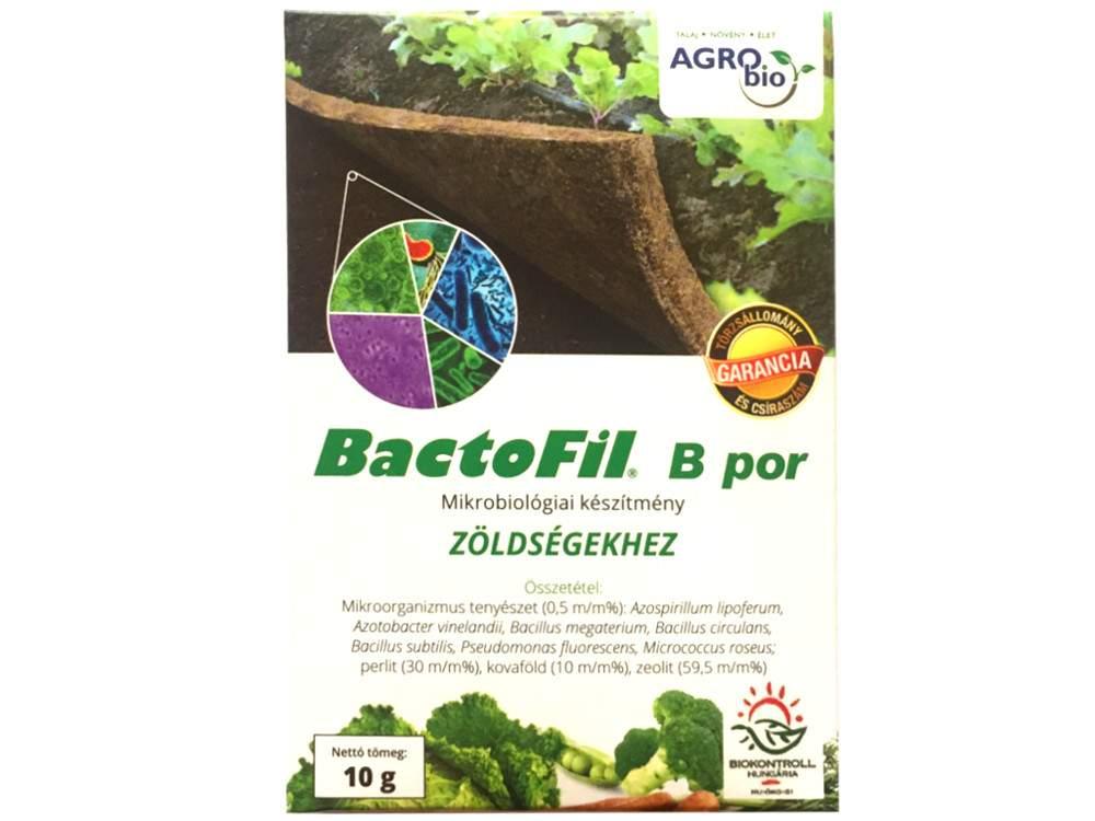 Bactofil zöldségtermesztéshez