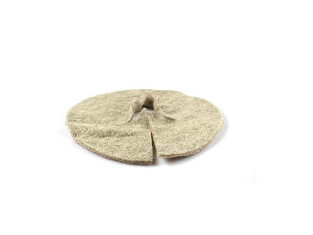 gyapjú mulcs korong