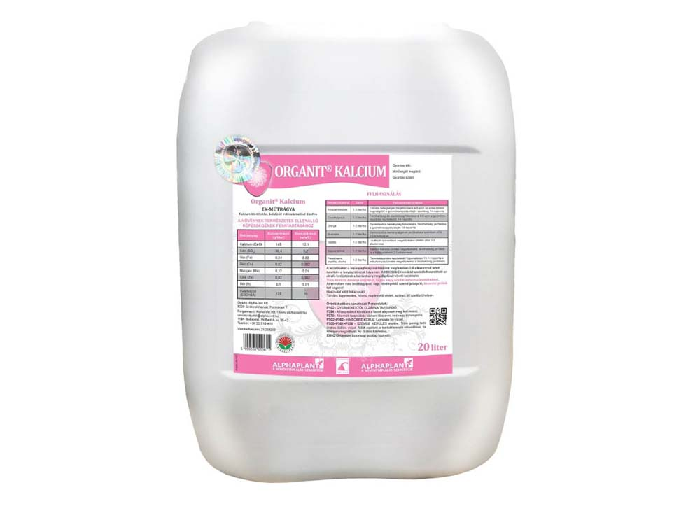 Organit Kalcium lombtrágya - 20 liter