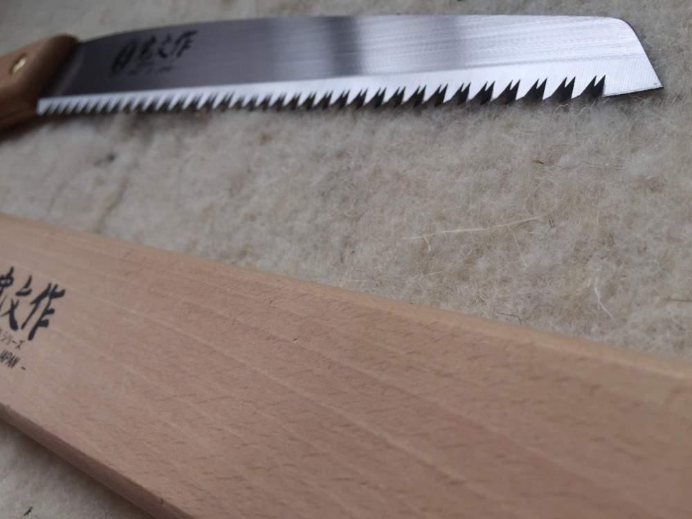 Asaka® japán ágvágó kézifűrész, fa tokkal