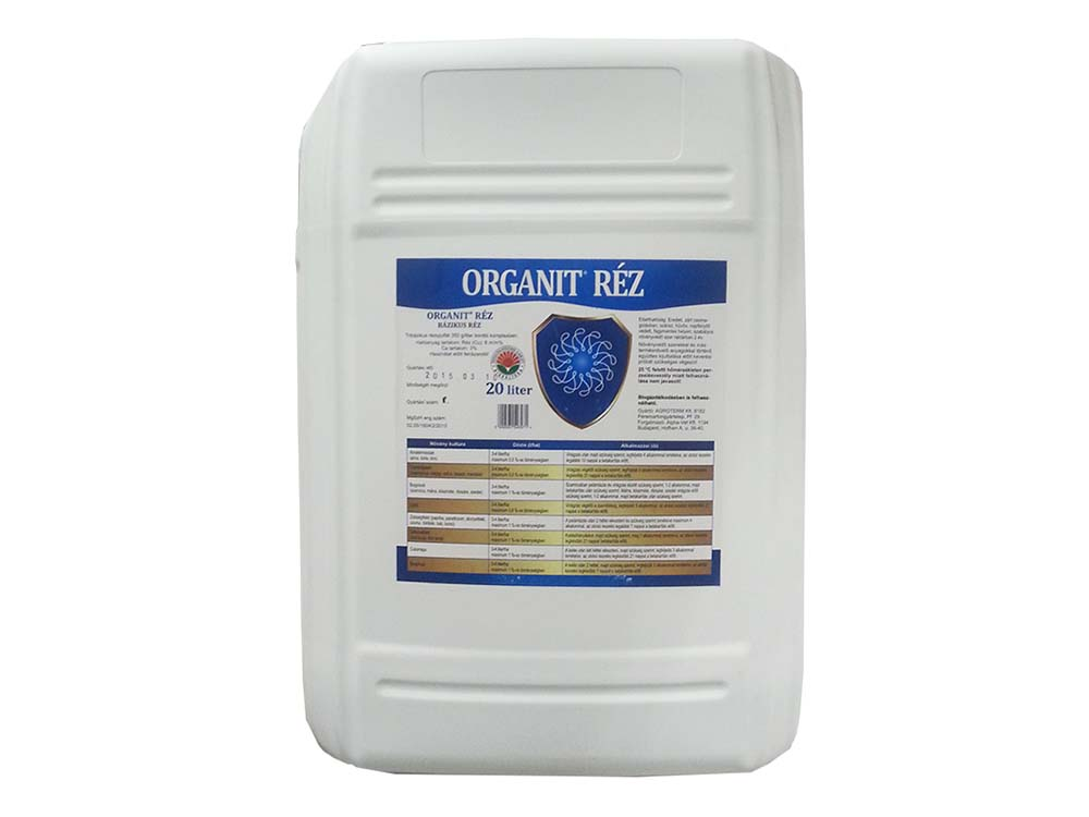 Organit Réz lombtrágya – 20 liter