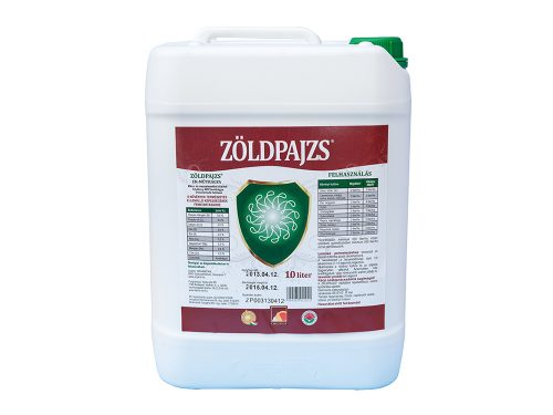 Zöldpajzs komplex lombtrágya – 10 liter