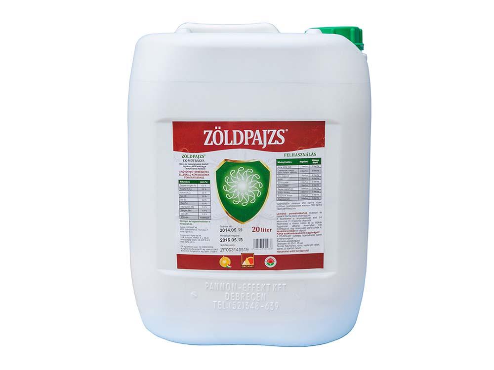 Zöldpajzs komplex lombtrágya – 20 liter