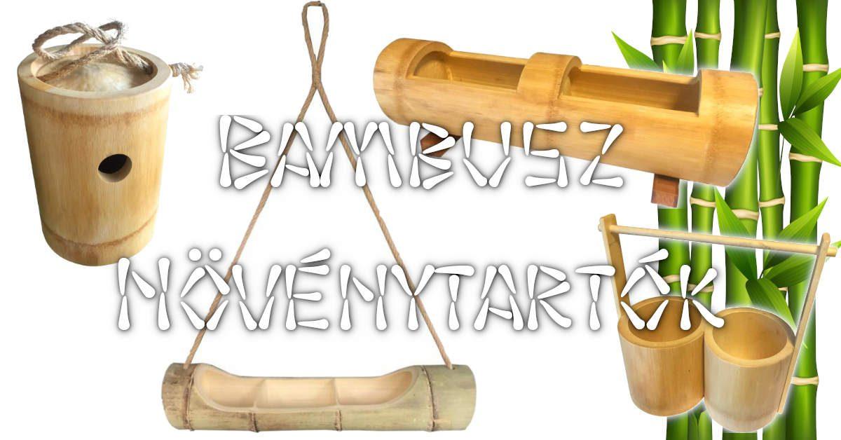 Bambusz növénytartók