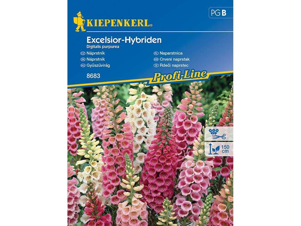 gyűszűvirág Excelsior hibridek