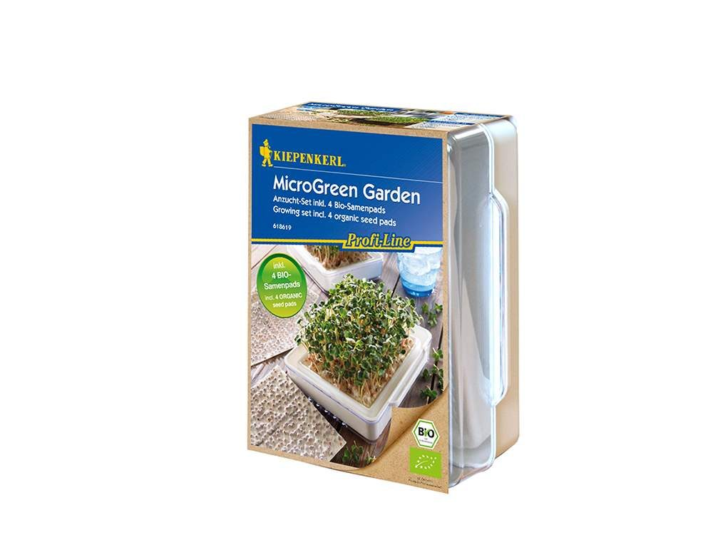 mikrozöldség csíráztató készlet